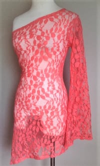 Coral Lace Dress Baltimore, 21229