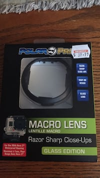 Macro lens for go pro hero 3