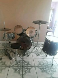 black and gray drum set Moreno Valley, 92553