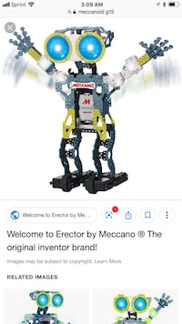 Meccanoid G15 Ai Robot Voice Command Bluetooth iPhone Android  Fredericksburg, 22401