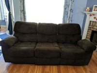 Recliner Couch with console  Semmes, 36575