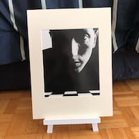 Bobby Fischer Chess Champion Matted Art Portrait Photo Toronto, M4S 2G8