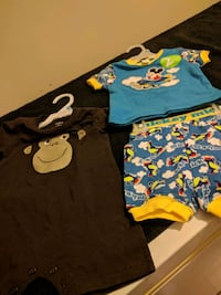 toddler's assorted clothes 480 km