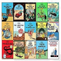 I'm looking for Tintin books pls message me if you have any, thank you! Edmonton, T5N 1N3