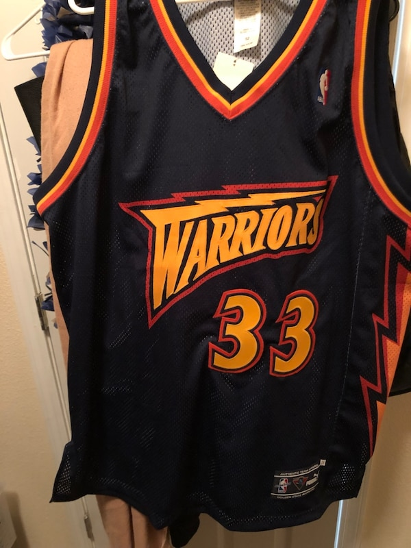 Used Vintage authentic Warriors jersey size 52 BRAND NEW for sale in  Brisbane 8f5be70e8