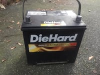 Diehard gold 35d car battery Boston, 02124