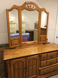 Bedroom Dresser w/ Mirror Lachine, H8S 1T4