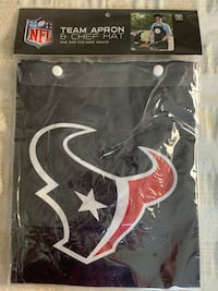 NFL TEXANS TEAM APRON AND CHEF HAT Lancaster, 17603