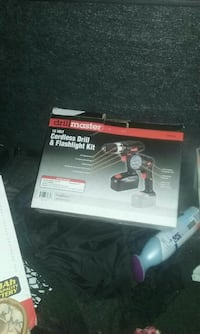 black and red Milwaukee cordless impact wrench box Thousand Palms, 92276