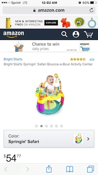 New in box springing safari 12+ months PRICE IS FIRM Portland, 78374