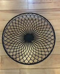 "Round metal wall art 20"" diameter"