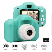 Kids Rechargeable Camera, 2-inch Screen 13MP 1080P Video NEW ½ RETAIL  Virginia Beach, 23451