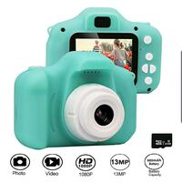 Kids Rechargeable Camera, 2-inch Screen13MP 1080P Video NEW ½ RETAIL