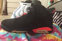 unpaired black and red Air Jordan 6 shoe Port Richey, 34668