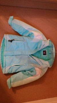 Winter Jacket  w/ Hood- size 6/6X Girls