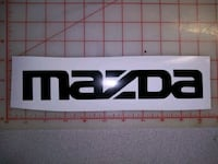 Mazda car decal 2inch by 10inch Surrey