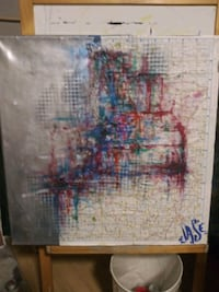 Painting abstract acrylics college Portland, 97213