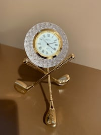 Crystal Golf table clock Toronto, M5P 3C6