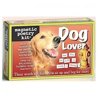 Magnetic Poetry Kit - dog lover 3126 km