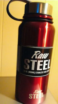 Raw Steel Hot / cold thermos (new) New York