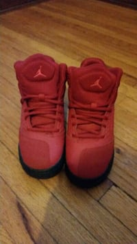 Red Jordan new school BG shoes Windsor, N8X 2M9