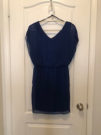 Blue midi dress. Brampton, L6P 3P5