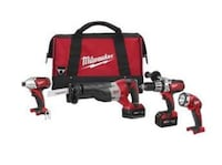 NEW! Milwaukee 4pc Combo Richmond