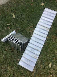 Aluminum traction pads