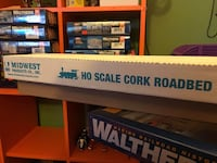 HO scale cork strips 778 km