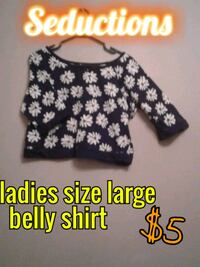 black and white floral print crop top 3134 km