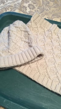 Hat and wrap scarf