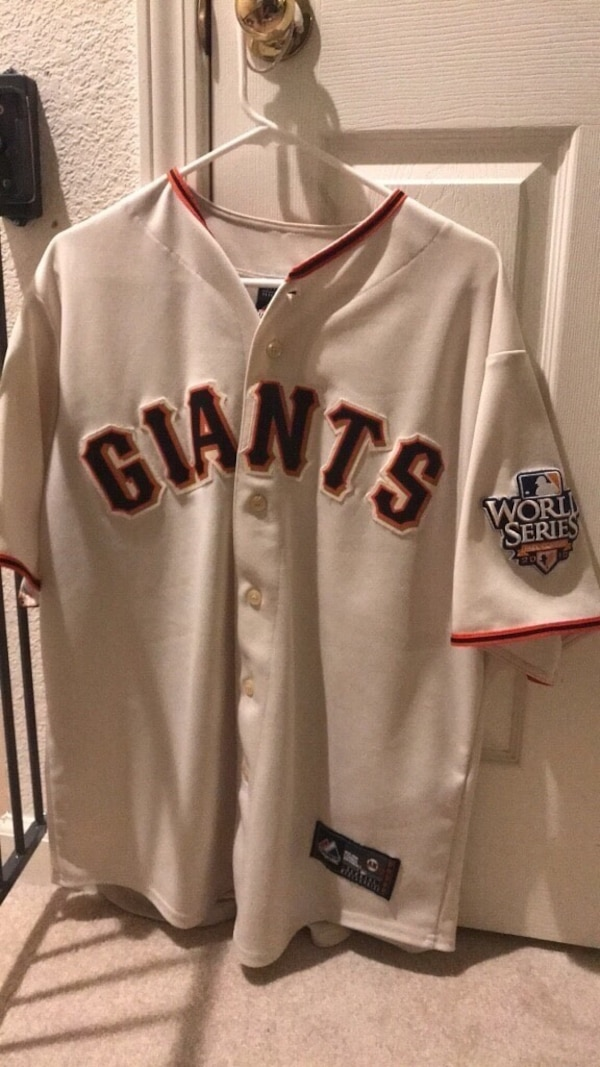 2775cacdb Used white and black Los Angeles Dodgers jersey for sale in San Jose ...