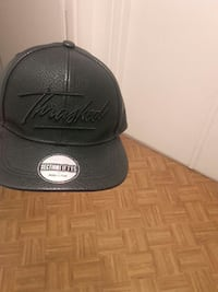 Cuir noir Section à broder Thrashed Fifty 5 snapback Lille, 59000