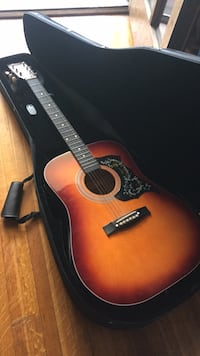 Guitar with excellent case