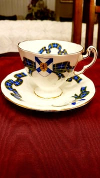 """Vintage""""Adderley""""bone china England cup and saucer Barrie, L4N 6C3"""