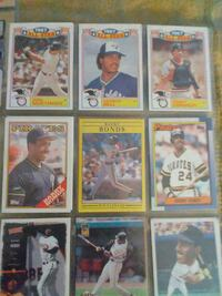 nine assorted baseball trading cards Petaluma, 94952
