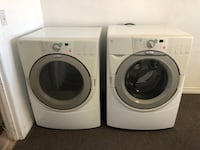 white front-load washer and dryer set Oak Hills, 92344