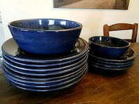 Pottery Barn Sausalito Dishes in Sapphire Blue Los Angeles, 90027