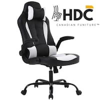 Black White Office Chairs With Back Support