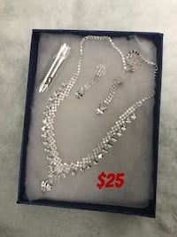 Diamond clustered jewelry set 3118 km