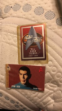 Still sealed from the day of purchase Star Trek collectors cards 48 km