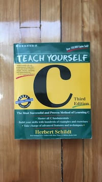 Teach Yourself C programming book Montréal, H2S 2G3