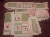 6 Piece Bedding Set for Baby Girl Hickory Hills, 60457