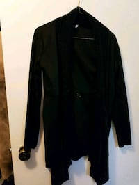 Black cardigan with buckle in front size L Winnipeg, R2J 0M3