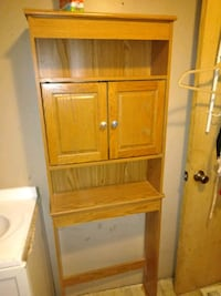 brown wooden cabinet with shelf Chillicothe, 45601