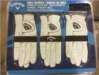 Brand new Callaway Golf Gloves 3-Pack Large Left Hand Calgary, T3G 1J6