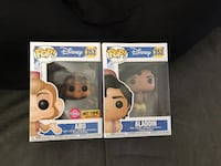 Funko Pop Aladdin and Hot Topic Exclusive Flocked Abu Talbott, 37877