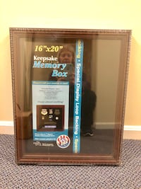 (BRAND NEW) Memory box. Store are your collectibles. Possibilities are endless. Baltimore, 21236