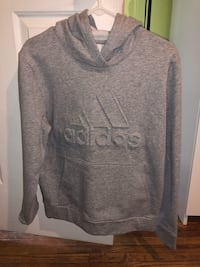 Gray and black adidas pullover hoodie Hicksville, 11801