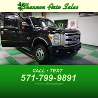 2014 Ford Super Duty F-350 DRW Platinum Manassas